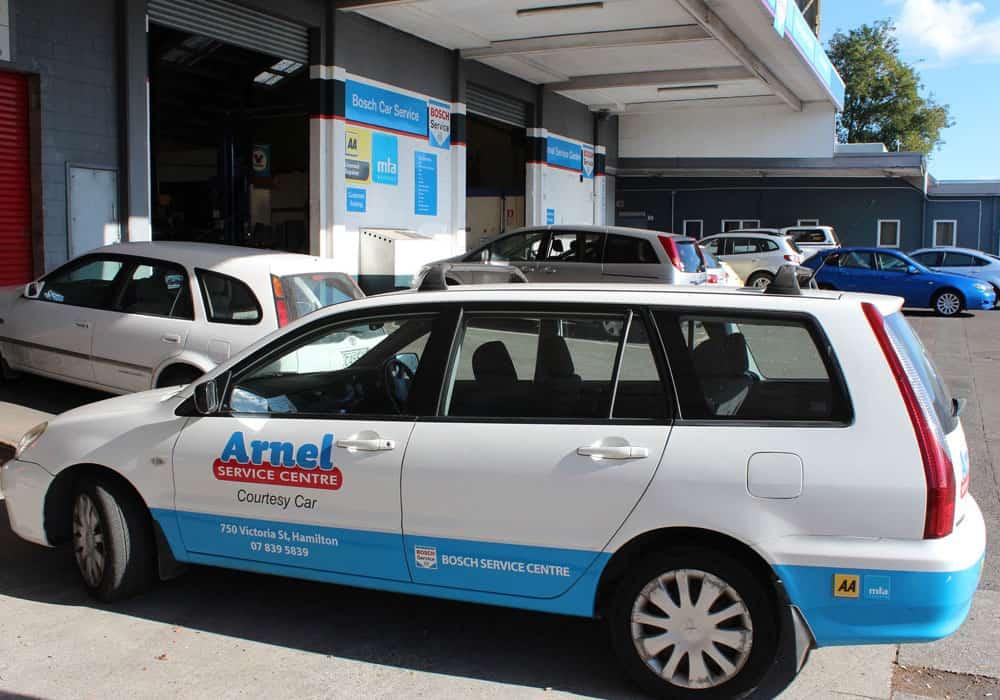 Arnel Service Centre Courtesy Car